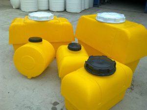 صادرات انواع مخازن پلی اتیلن افقی ایرانی