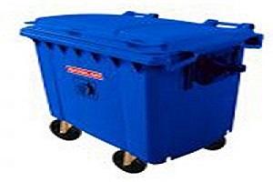 مخزن زباله پلی اتیلن