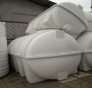 فروش مستقیم مخازن افقی پلاستیکی